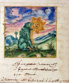 ATLANTEAN GARDENS: Alchemy: The Green Lion Devouring The Sun
