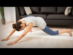 Faszien Training: Yoga mit Amiena - YouTube