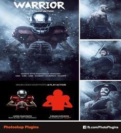 Warrior Photoshop Action by GraphixRiver