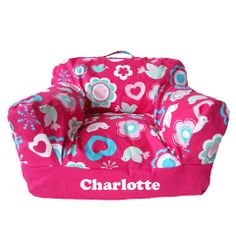 Personalised Beanbag Chair Flower Blossom Blossom Flower, Party Planning, Little Ones, Baby Car Seats, Bean Bag Chair, Children, Kids, Personalized Gifts, Lunch Box