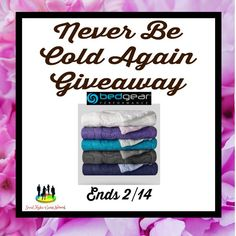 Cassandra M's Place: Never Be Cold Again Giveaway