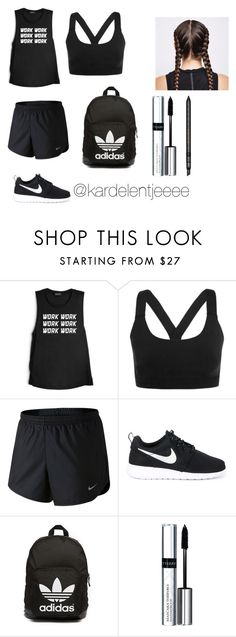 """Work, work, work, work"" by kardelentjeeee ❤ liked on Polyvore featuring Ivy Park, NIKE, adidas Originals, By Terry and Gucci"