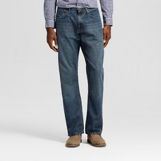 Wrangler Men's Bootcut Fit Jeans - Gray Blast 28X34