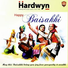 May this Baisakhi carry prosperity of luck and oceans of delight in your life. Happy Baisakhi!