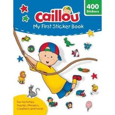 Caillou - My First Sticker Book