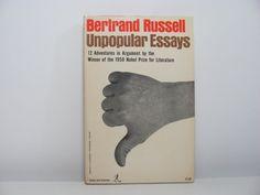 russell unpopular essays summary