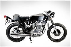"Honda CB360 - ""Lucky13"" - Pipeburn - Purveyors of Classic Motorcycles, Cafe Racers & Custom motorbikes"