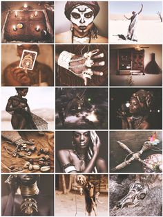 African Witch aesthetic requested by anon - Decor Voodoo Hoodoo, Voodoo Spells, Marie Laveau, Black Girl Aesthetic, Witch Aesthetic, Beige Aesthetic, Maquillage Voodoo, Wicca, Magick
