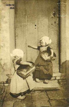 Back from the bakery 1910