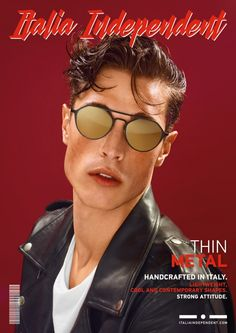 Italia Independents Eyewear Proves to be Cover Worthy