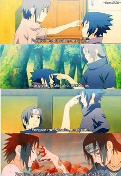 Itachi and Sasuke from past till now