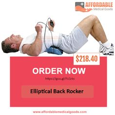 If you are experiencing lower back pain, suffer from arthritis or osteoporosis. This Elliptical Back Rocker back pain relief products will help a lot as it is used by many patients provide positive result.   Please click if you want to know more about this product and order now: https://goo.gl/FU1rks