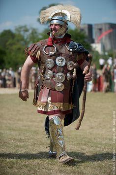 LEGION VIII AUGUSTA: Roman centurion.