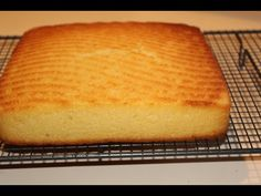 Coconut cake (Simple Baking) - YouTube