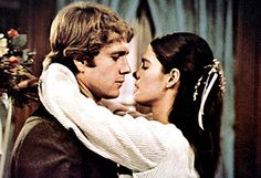 """""""Love means never having to say you're sorry.""""     Ali Macgraw and Ryan O'Neal in Love Story."""