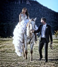 I love the chariot they picked...handsome couple...beautiful picture!