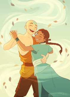 I'm going through my art folders (I also just rewatched avatar recently so i'm in a mood lol) and figured I could post this old piece that was made for a kataang zine that never quite got published! Avatar Aang, Avatar Legend Of Aang, Team Avatar, Legend Of Korra, The Last Avatar, Avatar The Last Airbender Art, Iroh, Zuko, Avatar Fan Art