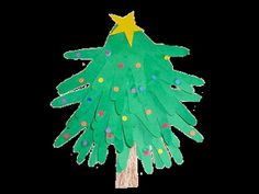 Random Handprints - A NYC Mom Blog... live from New Jersey: 'Tis the Season for... Handprint Christmas Trees