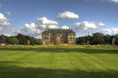 Palais in the Großer Garten, Dresden, Saxony, Germany