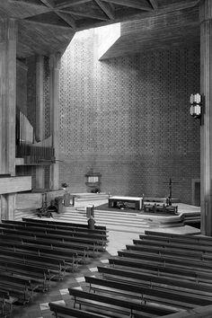 Church of Sagrado Coração de Jesus  Lisboa. Portugal 1961-1970 Architects: Nuno Teotonio Pereira and Nuno Portas