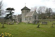 Church of St Nicholas of Myra, Ozleworth, Gloucestershire. Photo by C B Newham. not to be reproduced without permission.