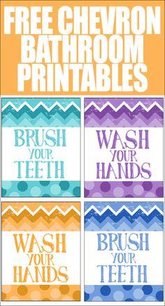Free Adorable Kids Bathroom Printable Grace Maya Decorating Organizing Pinterest Bathroom Printable And Kid Bathrooms
