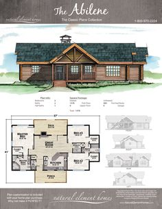 Great Photos Log Homes plans Popular As we start by getting to look into log homes , the idea quickly becomes evident that you have a lot more wide. Rustic House Plans, Cabin House Plans, Log Home Plans, Cabin Floor Plans, Log Cabin Homes, Dream House Plans, Small House Plans, Barn Plans, Simple Home Plans