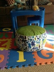 Jackie's Quilting: Floor cushion