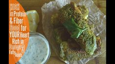 Rice Cakes & Pistachio Fish Fingers - Protein Meal