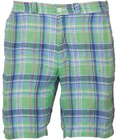 Ralph Lauren Mens Beachshop Madras Shorts 26601 Green Blue £31.99 71% OFF! #FASHION #DEALS #MENSFASHION