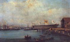 Marine à vapeur   Trois-Ponts à hélice russe, 1860