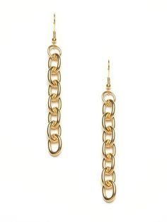 Privileged Chain Link Earrings