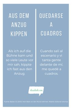 Frases hechas Alemán /español. Encuentra material para aprender español en nuestra Web! Foreign Language Teaching, Classroom Language, Language Quotes, Language Activities, Learning, Words, Ideas, Learning Spanish, Spanish Class