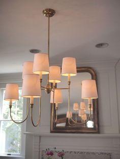 Circa Lighting Visual Comfort Vendome Chandelier Antique Brass | eBay