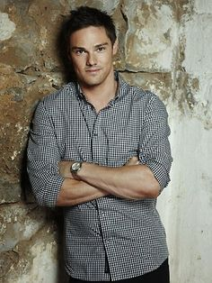 Jay Ryan another crush! He is hott lol he is on the new CW hit TV series Beauty and the Beast he plays Vincent Keller :-)