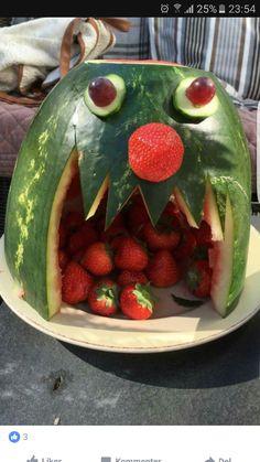 Melonmunn