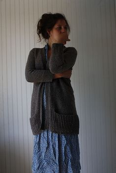 Ravelry: Project Gallery for Linney Cardigan pattern by Amy Christoffers