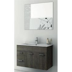 "Check out the ACF by Nameeks ACF-LOR02 Loren 33"" Wall Mounted Bathroom Vanity Set - Vanity Top Included priced at $1,200.00 at Homeclick.com."