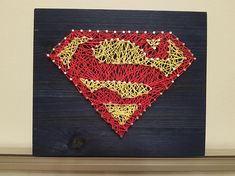 spiderman string art sign diy pinterest string art. Black Bedroom Furniture Sets. Home Design Ideas