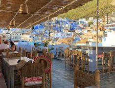 48 Hours in Chefchaouen – The Perfect Itinerary Modern Cafe, Moroccan Lighting, Beautiful Streets, Main Attraction, Breath In Breath Out, City Photography, Day Trip, Morocco, Traveling By Yourself
