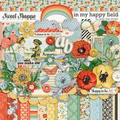 In My Happy Field by Jady Day Studio