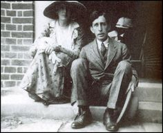 Virginia & Leonard Woolf, 1926.
