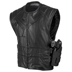 Quick and the Dead™ Leather Vest