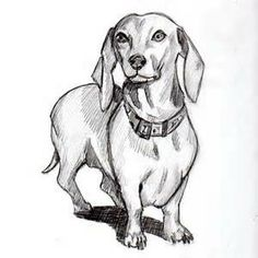 "See our site for even more info on ""Dachshund dogs"". It is a great spot for more information. Dachshund Drawing, Arte Dachshund, Dachshund Puppies, Dachshund Love, Dachshunds, Dachshund Tattoo, Horse Coloring Pages, Dog Coloring Page, Dachshund Zeichnung"