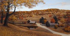 """Vermont Farm"" - by Eugene Lushpin"