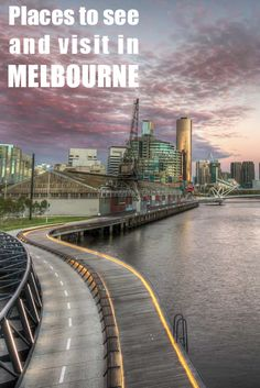 The long ride to the city of Melbourne, the Jim Stynes bridge.  Melbourne is my city, it is my base. I know so many places but which one are the best to visit. Here is the top 15, not to be missed  http://mel365.com/places-to-visit-in-melbourne/
