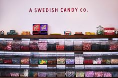 Bon Bon, on the Lower East Side, is the second Swedish candy store in New York.