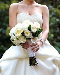 White Wedding Bouquets, White bridal bouquets