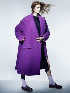 magdalena langrova photos8 Magdalena Langrova Wears Fall Pastels for Interview Russia Shoot