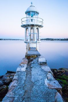 LIGHTHOUSE @  Sydney, Australia _____________________________ Reposted by Dr. Veronica Lee, DNP (Depew/Buffalo, NY, US)